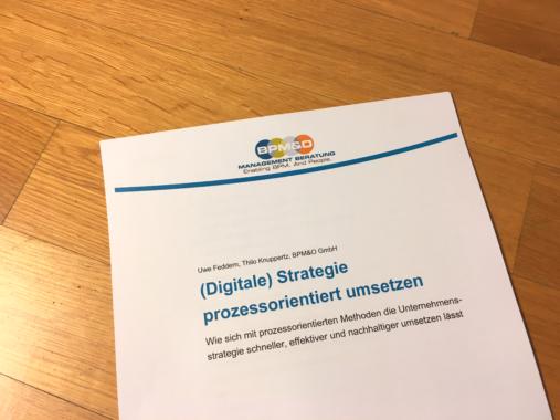 (Digitale) Strategie prozessorientiert umsetzen